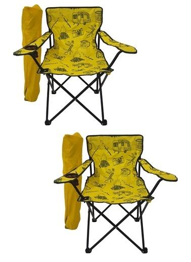 Bofigo Kamp Sandalyesi Sarı
